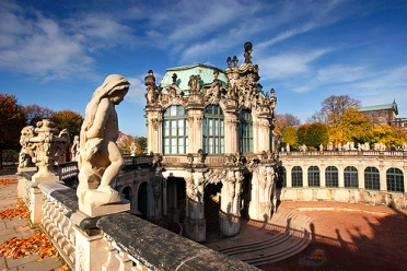 Zwinger in autumn