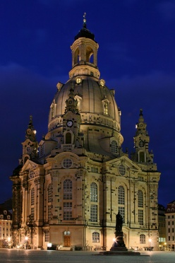 Blue Hour at the Frauenkirche