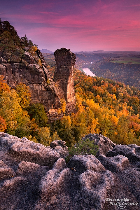 Devils Tower in Autumn