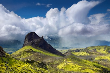 Einhyrningur in the Icelandic Highlands