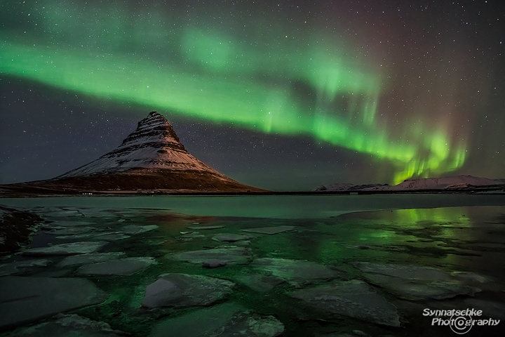Aurora Lights at Kirkjufell