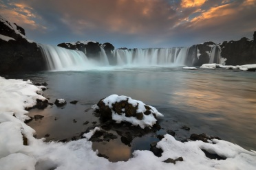 Godafoss from below