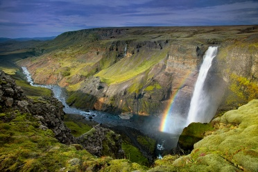 Haifoss with Rainbow
