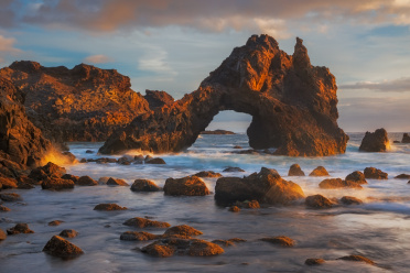 Coastal Arch Sunrise