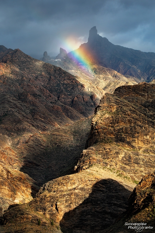 Mountains Rainbow