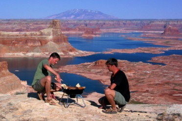 BBQ at Lake Powell