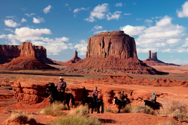 Monument Valley John Fords Point Indian Horse Rider