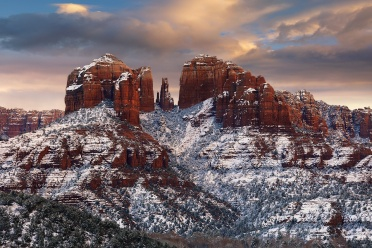 Winter Storm in Sedona