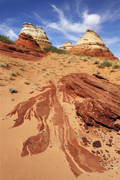 sandstone-buttes-at-coyote-buttes-south
