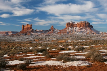 Monument Valley Wintertime