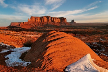 Monument Valley Stone at Sunrise