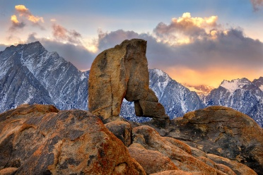 Boot Arch at the Alabama Hills