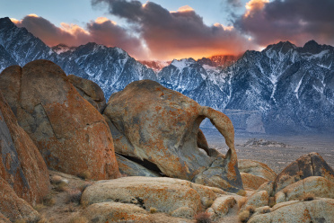 Cyclops Arch at Sunset