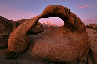 Mobius Arch at Predawn