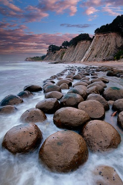 Bowling Ball Beach Concretions