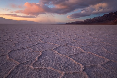 Badwater at Sunset