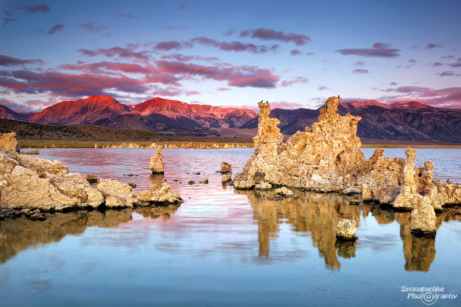 Mono Lake Sunrise Sierra Nevada