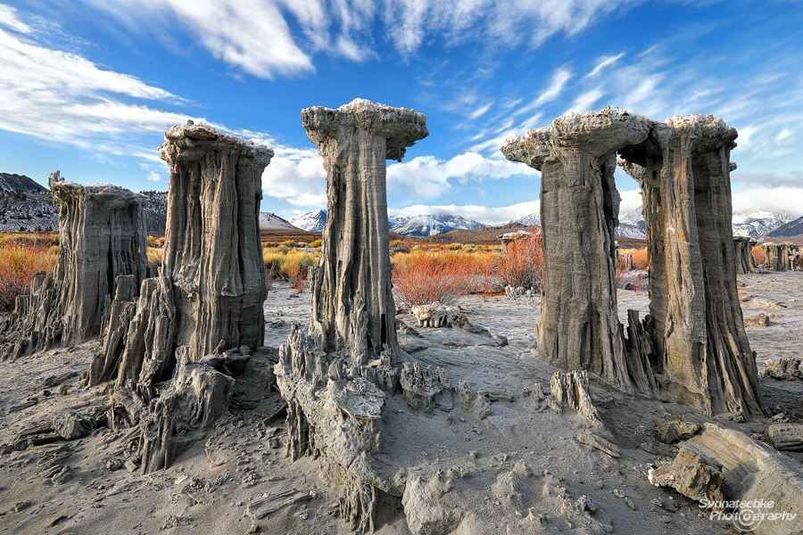 Sand Tufa Towers