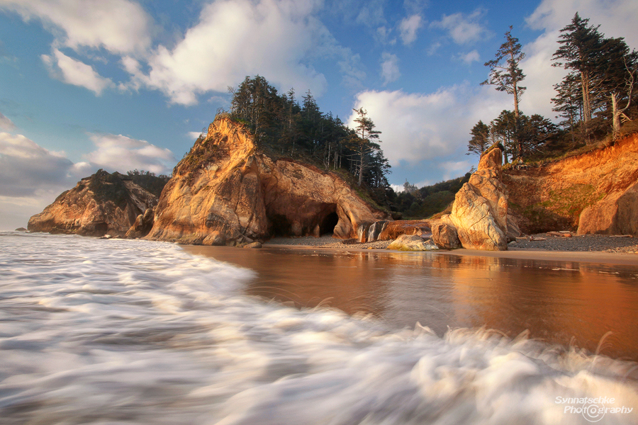 Hug Point - Oregon Coast