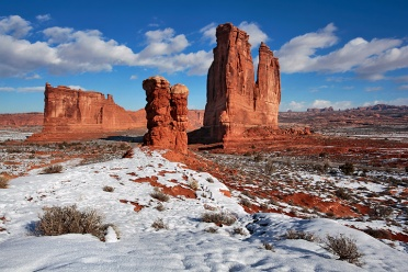 Arches NP in Winter