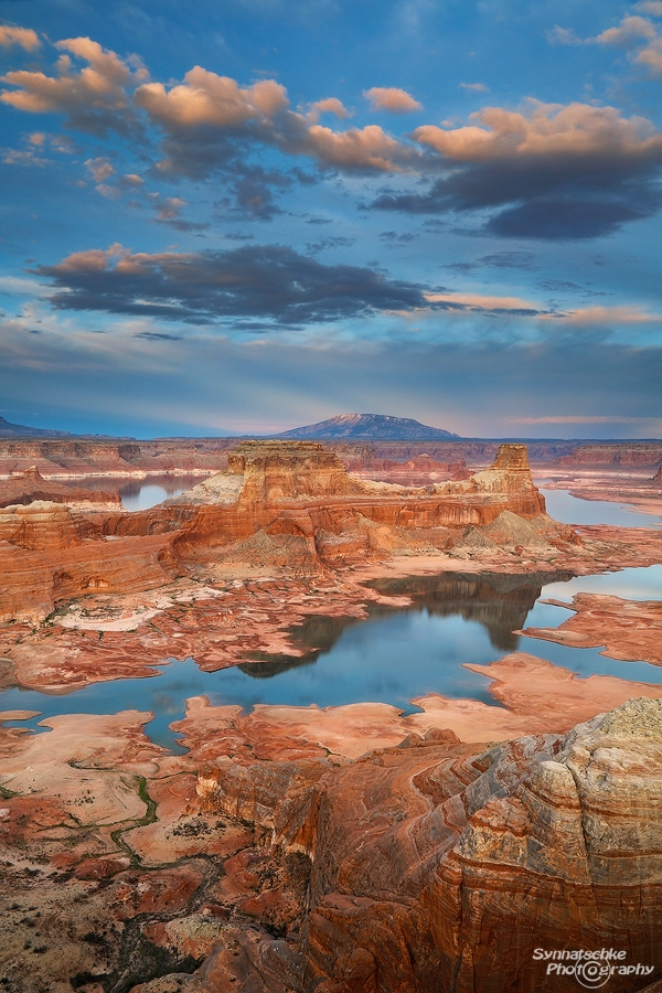 Lake Powell seen from Alstrom Point