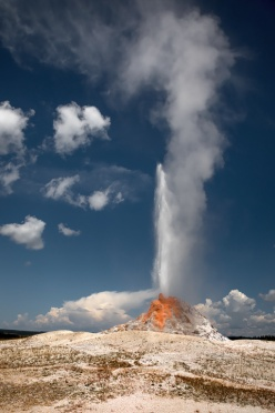 White Dome Eruption