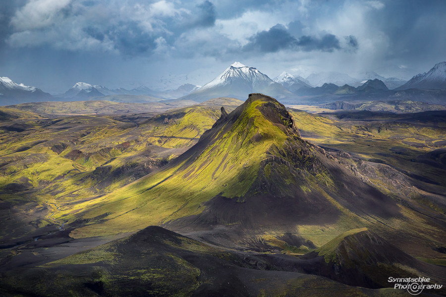 Einhyrningur - Unicorn Mountain in Iceland