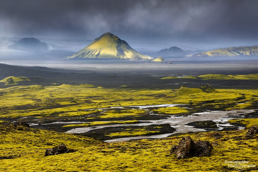 Maelifell in the Icelandic Highlands