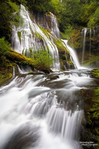 Panther Creek Falls at Columbia River Gorge