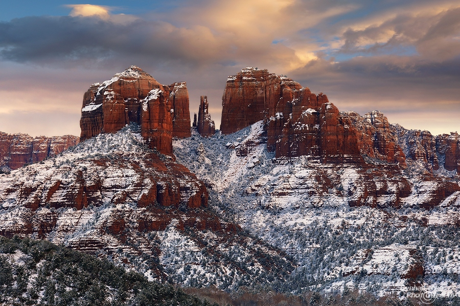 Sedona after a winter storm